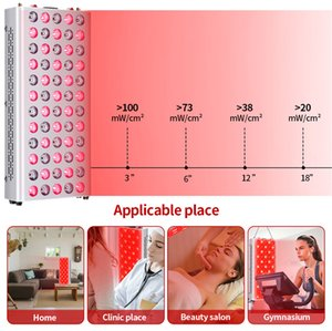 300W MINI Amazon bestsellers Full Body Infrared Led Infra Red Light Therapy Lamp 660nm 850nm Panel Face Bodys Device
