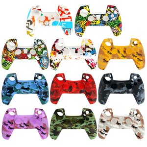 PS5 Silicone Case Cover Controller Gamepad Protective Covers For Playstation 5 Handle Joystick Protector Game Accessories