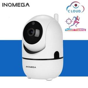 Беспроводная IP-камера Крытый интеллектуальный автоматический отслеживание Домашний монитор безопасности Портативный Белый Минимализм Мини-Камара Wi-Fi Камеры