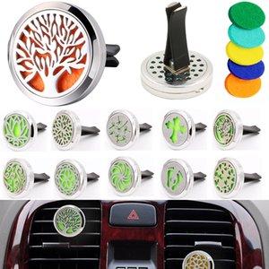 Aromatherapy Home Эфирное масло Диффузор для автомобильного воздуха Освежитель парфюмерных бутылочек Плакат с 5 шт. Моющиеся Флодовые площадки Ароматизаторы Автомобильные интерьеры