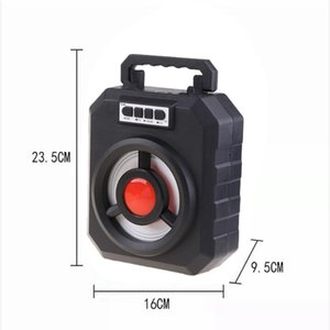Portable Speakers 668 Outdoor Wireless Speaker Super Bass With USB TF AUX FM Radio