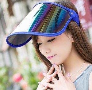 Berets Sun Visor الرجال والنساء نفس الوجه تغطي قبعة ركوب رقبة حماية كبيرة بريم uv