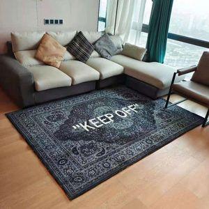 Carpets KEEP OFF Printed Floor Mat Living Room Area Rugs Bedroom Bedside Bay Window Carpet