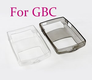 TPU Protective Shell For Nintendo GBC Console Soft Silicone Case for GameBoy Color Clear Protection Cover Accessories
