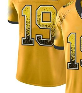Professional Custom Jerseys NY 8 13 26 NYJ 14 OAK 4 28 34 84 PHI 9 10 11 PIT 19 30 Shirts Men Carbon Black Retro Flag Jersey a6