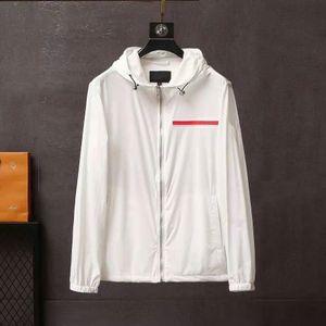남성용 재킷, 고품질 디자이너 봄과 가을 럭셔리 옷을위한 스타일 두건자 편지가있는 패션 자켓을 푸는 편지를 ostwears