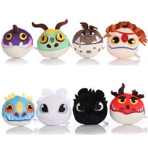 Dragon Toothless Anime Figure Night Fury Light Toys Plush Toy Dolls 10cm