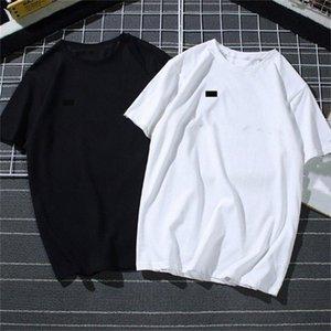 Mens Summer T Shirt Tide Designer Stampa manica corta ricamata Nero Bianco Top 15 Stili Allentati maschili e vestiti da donna U6iv #