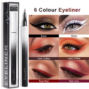 Cmaadu matte eyeliner pencil starry sky appearance long lasting waterproof white black brown eye liner tattoo pen