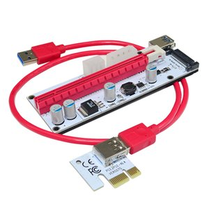 Ver 008s PCIE Riser 3 in 1 PCI-E Risers Card 1X to 16Xto USB 3.0 Pcie-Riser-Card Adapter For Bitcoin Miner Mining