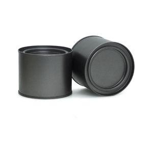 250 мл алюминиевый может оловянный кофе чай банку для бальзама для губ контейнер пустые задние банки металлические кремовые коробки