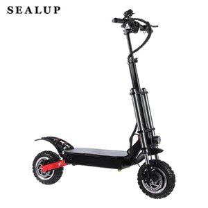 2400 W Çift Motorlar Güçlü Güçlü Yeni Elektrikli Bisiklet Katlanabilir Hoverboad Bisiklet Scoot Yetişkin Elektrikli Scooter