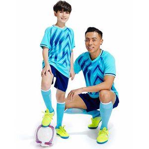 2021 Children's football clothing suits jersey boys and girls summer elementary school kindergarten training uniforms sports