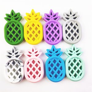 Infant Pineapple Teethers Food Silicone Toddler Pineapple Soothers Baby Molar Training Natural Safe Teether Baby Teething Toys 261 K2