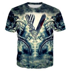 T-shirt dos homens 2021 Verão 3D Impressão Um soldado de ferro e sangue Pesca de pesca Hip Hop Grupo Pescoço T-shirt de manga curta 130-6xl