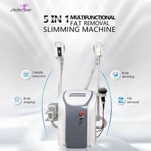Cintura de la máquina de crioterapia fresca Cavitación de adelgazamiento del equipo RF Reducción de grasa Lipo láser 2 Cryo Heads puede funcionar al mismo tiempo