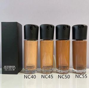 재고 있음 고품질 메이크업 액체 재단 수정 유체 15 파운데이션 액체 35ml / 1.2USFL OZ 얼굴 형광펜 Concealer