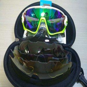 2021 Polarized 5lens Outdoor Sports Mountain Bicycle UV400 Sunglasses men Gafas ciclismo MTB Cycling jbr Glasses motocycle Eyewear