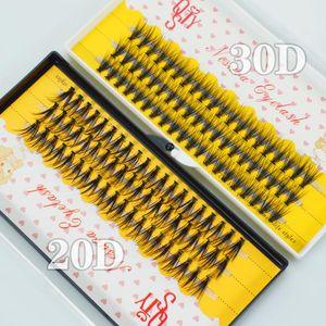 Lines 20 30D Russian Volume Color Eyelashes Extension C D DD Curl Premade Fans Lash Selling Eyelash Individual Extens False