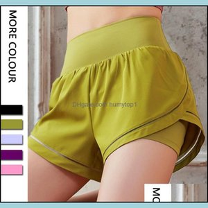 Outfits Exercise Wear Outdoor Apparel Sports & Outdoorsluyogasports Biker Shorts Skin-Friendly Athletic Activewear Lu Pants High Waist Loose