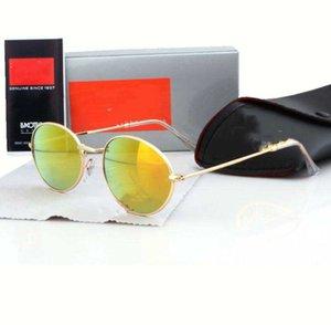 Luxo \ U00a0Designer Óculos de Sol Vintage Marca Piloto UV400 Proteção Mens Mens Mulher Designer Out Ciclismo Moda Sol óculos com Caso 3547