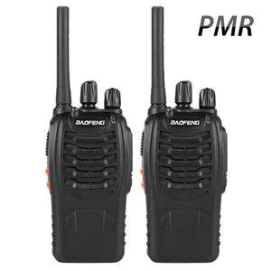 Baofeng BF-88E PMR 888S Walkie Talkie 1500mAh UHF 446 MHz 0.5 W 16 CH 핸드 헬드 휴대용 라디오의 업데이트 버전
