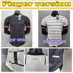 Euro 2021 Germany jerseys,soccer Player version REUS Home kit HUMMELS KROOS MULLER GOTZE Football Shirt HAVERTZ Mens Jersey