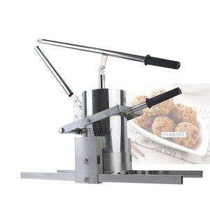 Köfte Sebze Topu Makinesi Kızarmış Topları Karides Hamur Yapma Kalıp Aracı Manuel İşlemciler Yiyecek