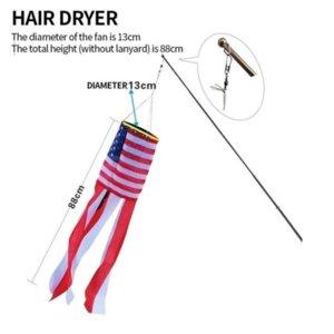 USA Trump Wind Flags 4 estilos American National Bandera Rayado Jardín Decoración Banner Banders 50pcs FY2602