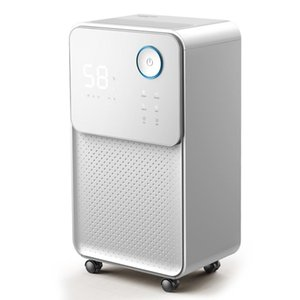 Air Dehumidifier Dryer Purifier Home Bedroom Basement Moisture Absorber Touch Screen Constant Humidity Child Lock Dehumidifiers