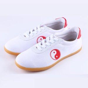 Training shoes Ushine EU34 45 Canvas Koe Spier Zool Chinese Wushu Kungfu Taichi Sneakers Shoes Men Women Wu Borumen 0902