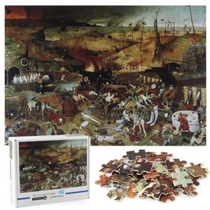 Adult Decompression difficult art puzzle 1000 pieces of paper puzzle Intelligence Creative toys landscape and order types