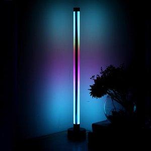 Floor Lamps Modern Led Corner Lamp Light Bedroom Dining Room Atmosphere Lighting Club Home Indoor Decor Standing