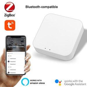 Умный домашний контроль Tuya Zigbee Gateway Hub Smarthome Bridge Life App Wireless Remote Controller работает с Alexa Google