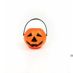 Halloween Decoration Pumpkin Buckets Candy Bowl Holder Plastic Lightweight Trick Or Treat Pots Wizard White Skull Bucket HWD11144