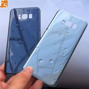 100PCS OEM Battery Door Back Housing Cover Glass Cover for Samsung Galaxy S8 G950 G950P S8 Plus G955P with Adhesive Sticker Can Single LOGO & Double LOGO