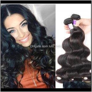Zhifan 828Inch Virgins Bundle Deals Brazilian Weave Color 33 Black Natural Remys Deep 22 Inches Body Yxanp Bulks Knkm5