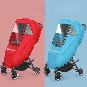 Stroller Parts & Accessories Universal Type Infant Carriage Rain Cover Children Rain-proof Dust Proof Warmth Covers Organizer Baby