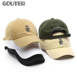 Goutter surf vague lettre broderie chapeau de baseball unisexe chapeaux de soleil casse-snap-snapback casquette femme casquette