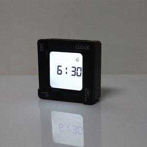 Timers Multifunctional DIY Time Management Pomodoro Timer Creative Square Alarm Clock Vibration Flashing Backlight Reminder