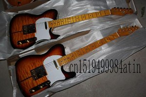 Shipping New Arrival F Sunburst Custom Shop TUFF DOG Signature Electric Guitar Golden Hardware @24