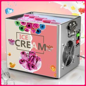 Tailandese Stil Fry Gelato Strumenti Strumenti Roll Machine Cucina elettrica piccolo kit da yogurt fritto yogurt portatile