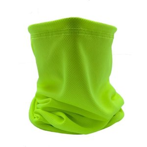 Mesh Magic Cycling Scarf Mask Outdoor Summer Riding Headscarf breathable Ice Silk Bandanas Scarves Men Women Multi Solid Turban YP778