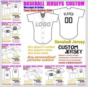 Custom BASKETBALL BASEBALL ICE HOCKEY American football Jerseys For Men Women Youth College Color baseball soccer jersey orange 4xl 5xl 6xl