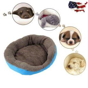 Kennels & Pens Soft Dog Cats Puppy Pet Bed Winter Warm Nest Beds