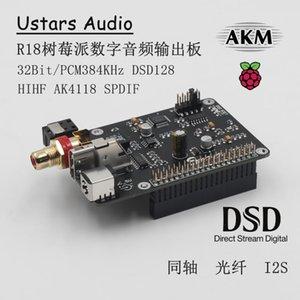 Akıllı Ev Kontrolü R18 AK4118 Koaksiyel HIFI I2S DSD Dijital Web Yayını