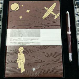 Luxury Signature Pen Classic Brown Roller Ball Pens Resin Материал Главное письмо с соответствующим ноутбуком и оригинальной коробкой