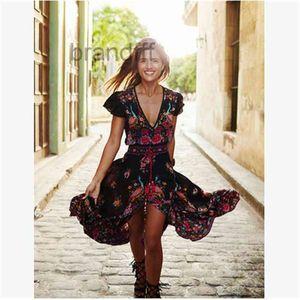 Новый шаблон суд восстановить древние способы печати V свинцовый макси шифон как пляжное платье длинный бодиконку Летняя флора напечатана для платьев