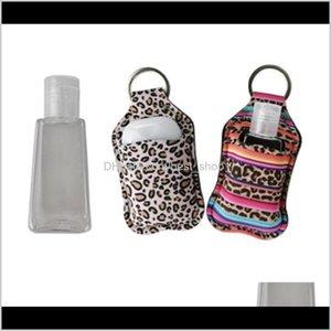 Storage Holders Hand Sanitizer Bottle Holder Neoprene Soap Bottle Bag Sunflower Printing Hand Sanitizer Bags Travel Portable Covers 50 M5Nsm