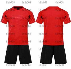 2021 010207 Chándal de fútbol Funda de manga corta Match Training Trail Team Jersey Número Logotipo Personalización 23